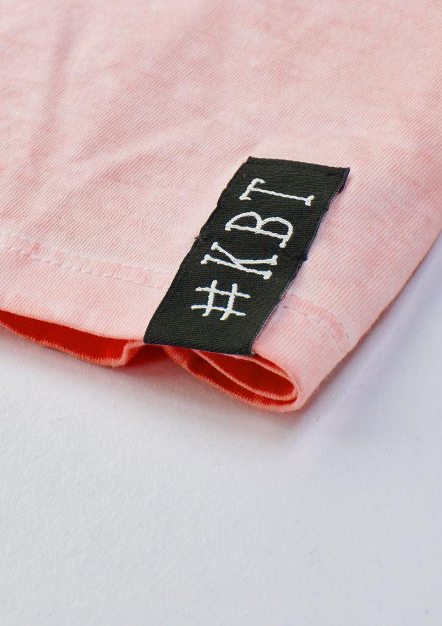 krijtbord tshirt oud roze maat 116
